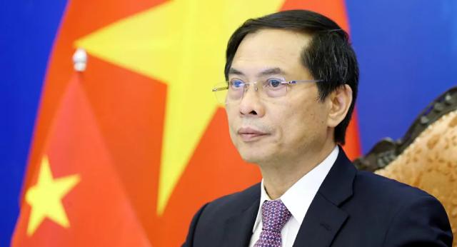 Bộ trưởng Bộ Ngoại giao Bùi Thanh Sơn phát biểu tại Hội nghị.