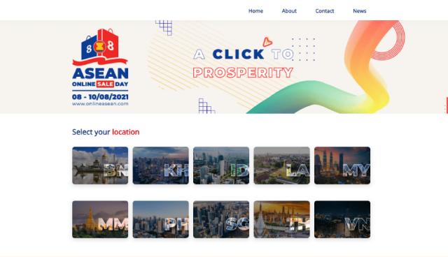 Người tiêu dùng khu vực ASEAN có thể mua sắm trên các nền tảng số, sàn thương mại điện tử lớn trong và ngoài nước với những ưu đãi dành riêng cho sự kiện.