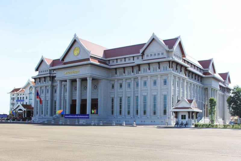 Công trình Nhà Quốc hội Lào