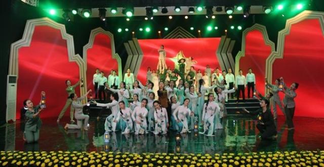 """Chương trình nghệ thuật """"Những ngôi sao bất tử"""" đã phát sóng trên VTV2 nhân kỷ niệm Ngày Thương binh - Liệt sĩ 27/7."""