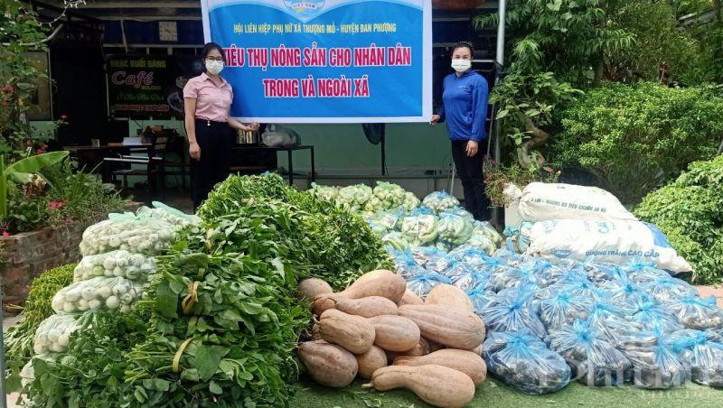 Hoạt động hỗ trợ tiêu thụ nông sản cũng được chị em hội viên tích cực hưởng ứng