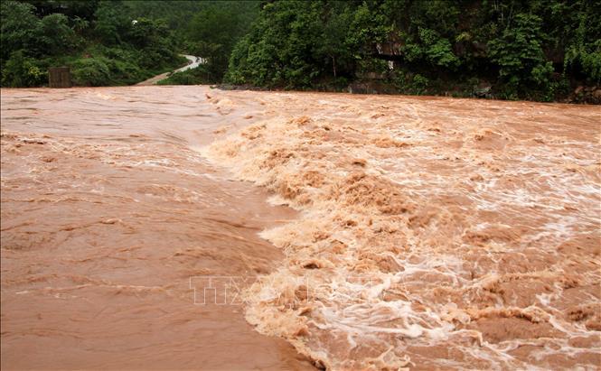 Từ ngày 9 - 18/8, các khu vực trên cả nước mưa dông về đêm, đề phòng thời tiết nguy hiểm. Ảnh minh họa: Văn Tý/TTXVN
