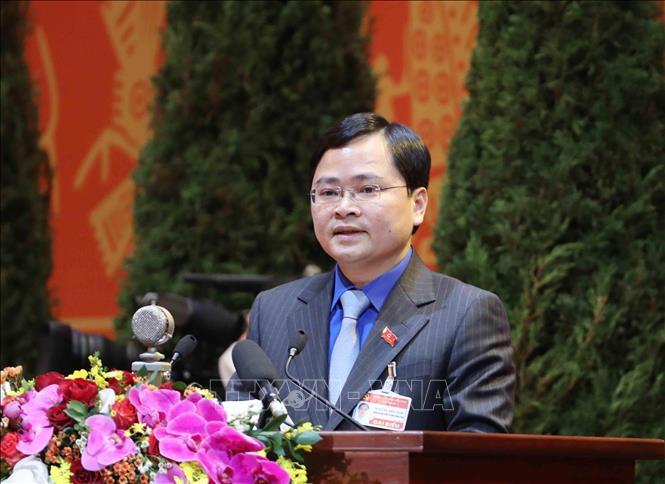 Bí thư thứ Nhất Trung ương Đoàn, Chủ tịch Hội Liên hiệp Thanh niên Việt Nam Nguyễn Anh Tuấn. Ảnh: TTXVN