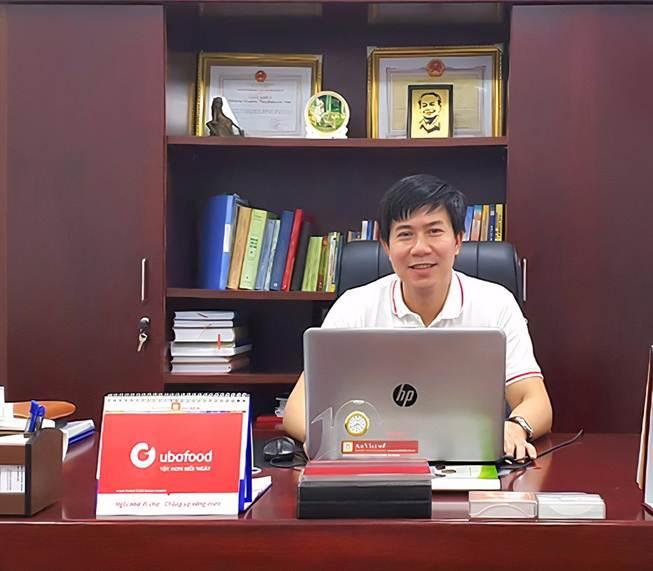 Ông Đỗ Hoàng Thạch – Giám đốc điều hành Công ty CP Ubofood Việt Nam