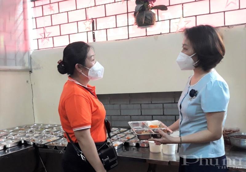 Trong sáng 16/8, đồng chí Phạm Thị Thanh Hương - Phó Chủ tịch Hội LHPN Hà Nội cũng đã tới thăm mô hình