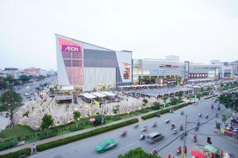 Aeon Mall Bình Tân đẩy giá bất động sản Khu Tên Lửa gia tăng