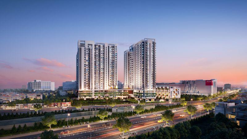Phối cảnh dự án Moonlight Centre Point – Căn hộ trung tâm khu Tên Lửa vừa được giới thiệu ra thị trường