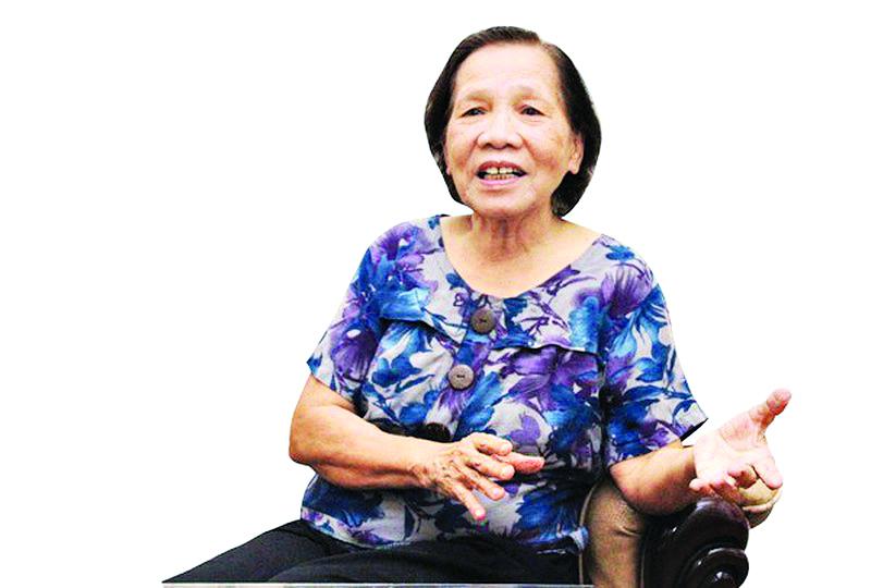 Bà Lê Thị Tuý - Tổng Biên tập báo PNTĐ từ năm 1991-1995