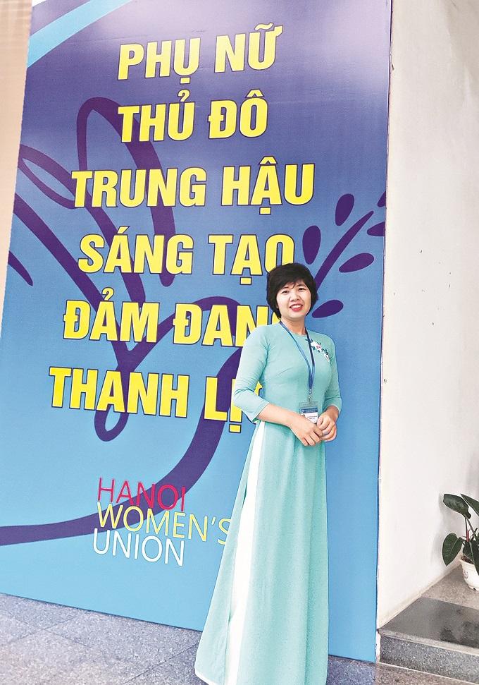 Nhà báo Nguyễn Thanh Thanh - Phóng viên Ban Thời sự chính trị - Công tác Hội