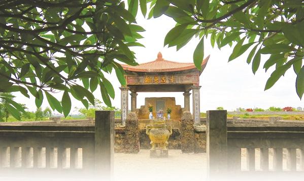 Đền thờ Thám hoa Giang Văn Minh ở xứ Đoài.