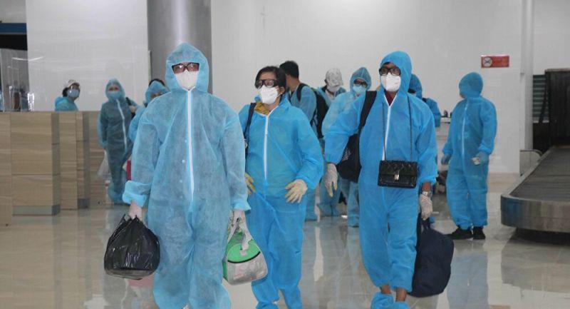Các địa phương tổ chức đón công dân từ TP HCM về quê