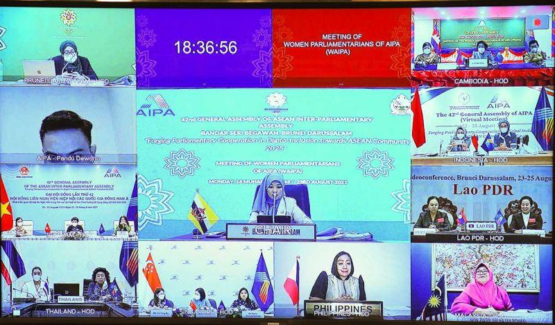 Hội nghị Nữ nghị sĩ AIPA (WAIPA) được tiến hành theo hình thức trực tuyến