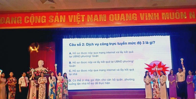 Phụ nữ quận Long Biên tổ chức