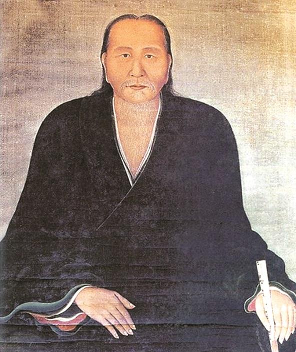 Bức tranh lụa chân dung cụ Nguyễn Quý Đức
