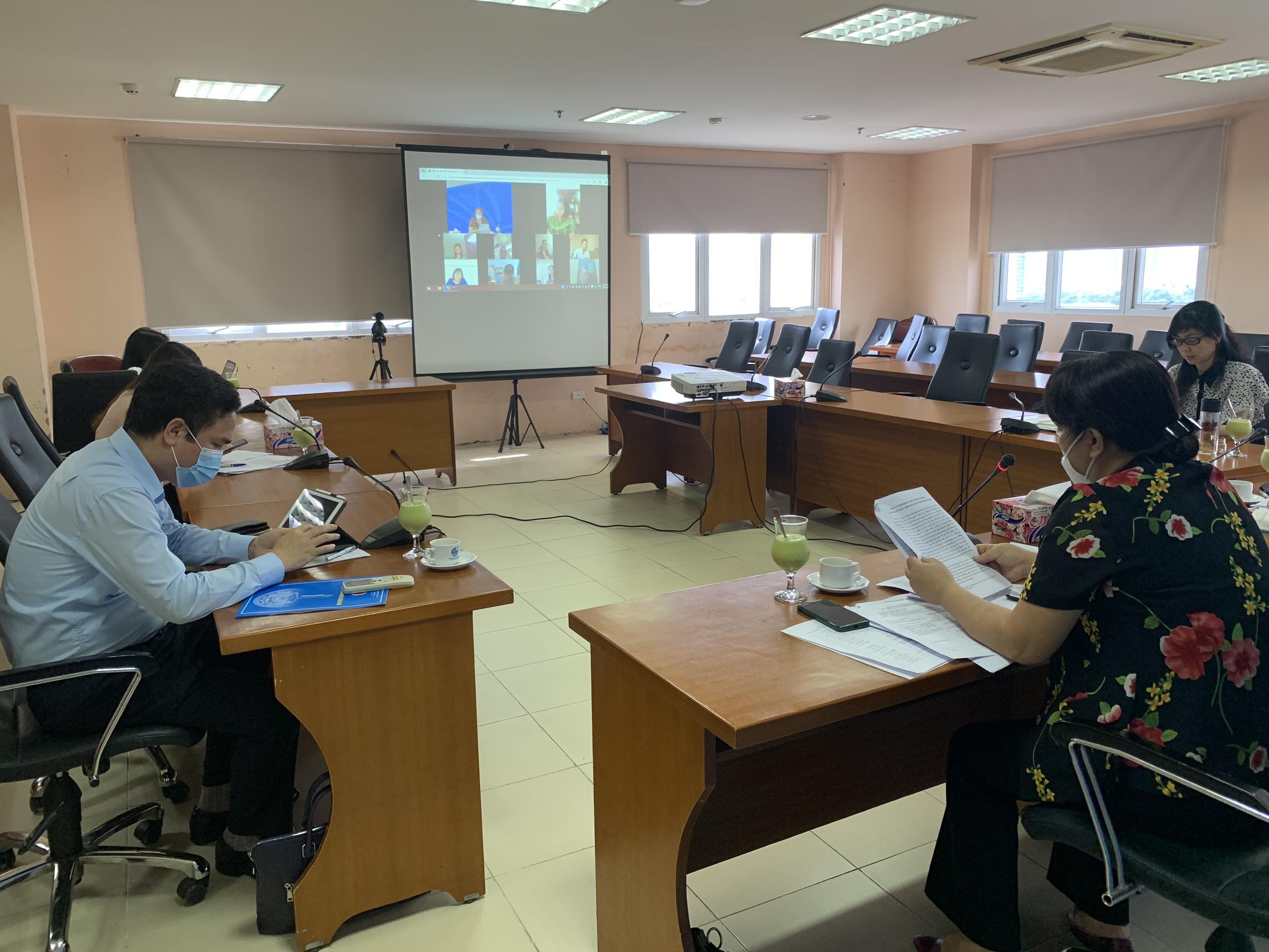 Hội nghị được thực hiện trực tuyến, Các đại biểu tham dự hội nghị thông qua Zoom meeting