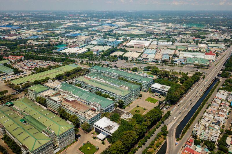 Khu công nghiệp Tân Tạo thuộc quận Bình Tân, nơi tập trung hàng trăm công ty sản xuất trong và ngoài nước