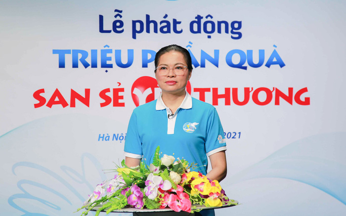 Chủ tịch Hội LHPN Việt Nam phát biểu tại Lễ phát động  chương trình