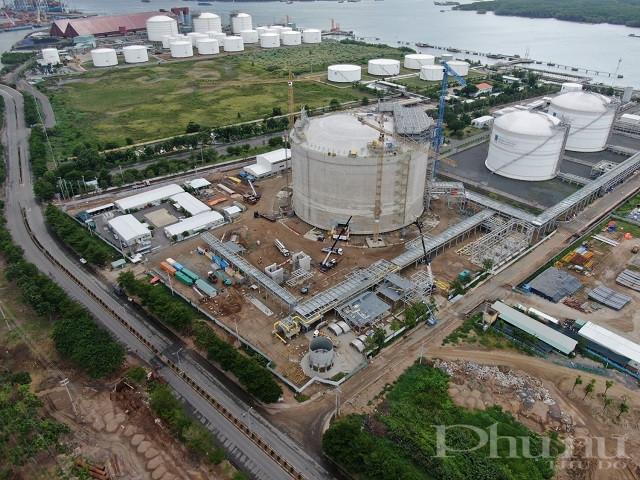 Kho cảng PV Gas Bà Rịa - Vũng Tàu vẫn giữ nhịp độ sản xuất kinh doanh, đầu tư xây dựng