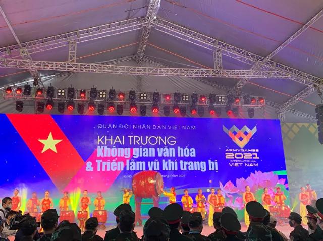 Khai mạc Army Games 2021 tại Việt Nam.