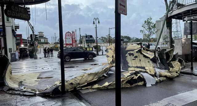 Hậu quả của cơn bão Ida ở Hoa Kỳ.