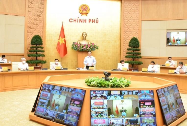 Thủ tướng họp trực tuyến với hơn 9.000 xã phường.