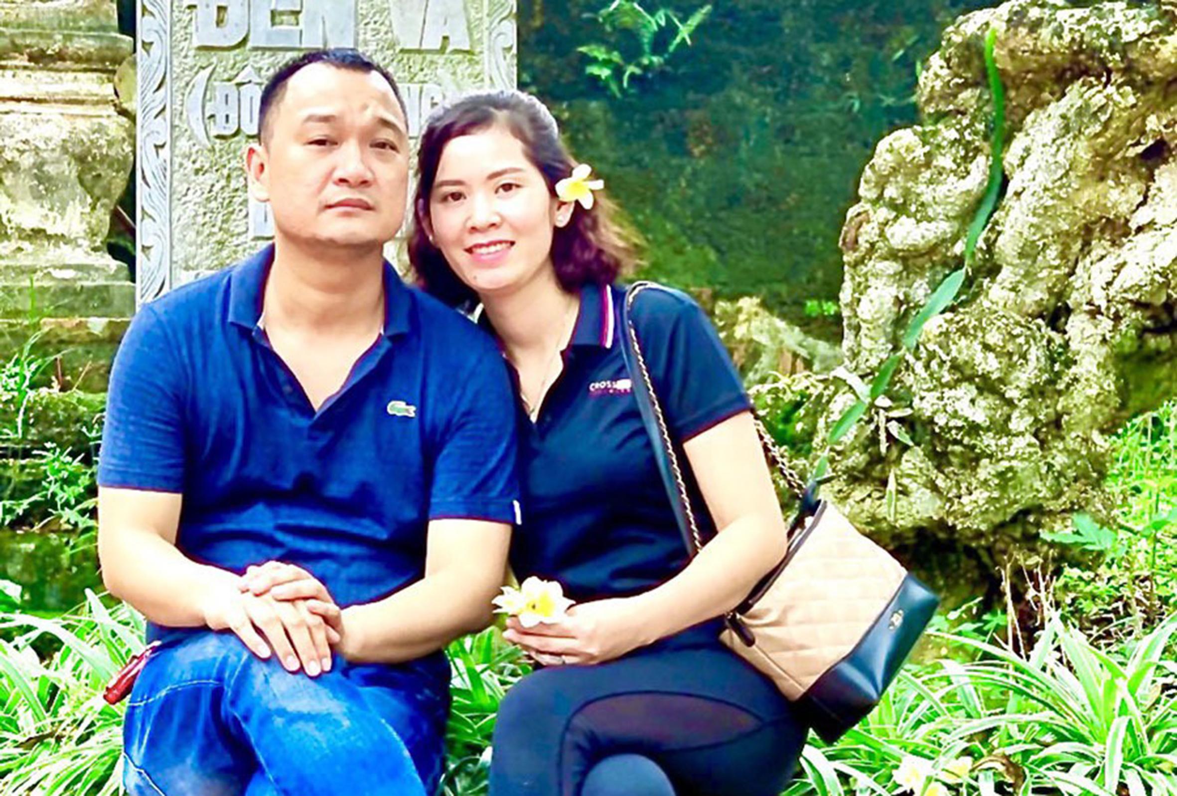 Vợ chồng chị Hạnh