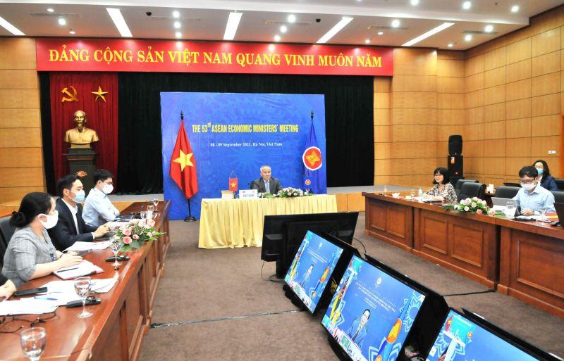 Quang cảnh hội nghị tại Bộ Công Thương
