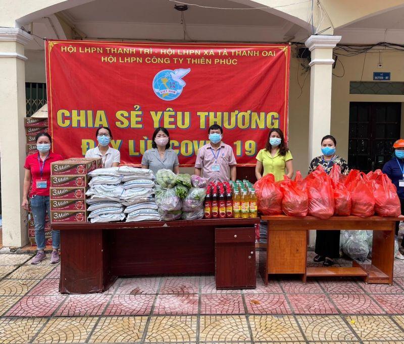 Những đóng góp của các chị được các cấp uỷ đảng, chính quyền tin tưởng, đánh giá cao, được người dân vô cùng cảm kích