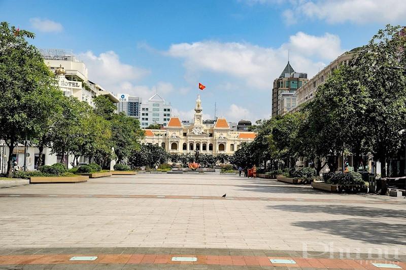 Thành phố Hồ Chí Minh những ngày giãn cách.