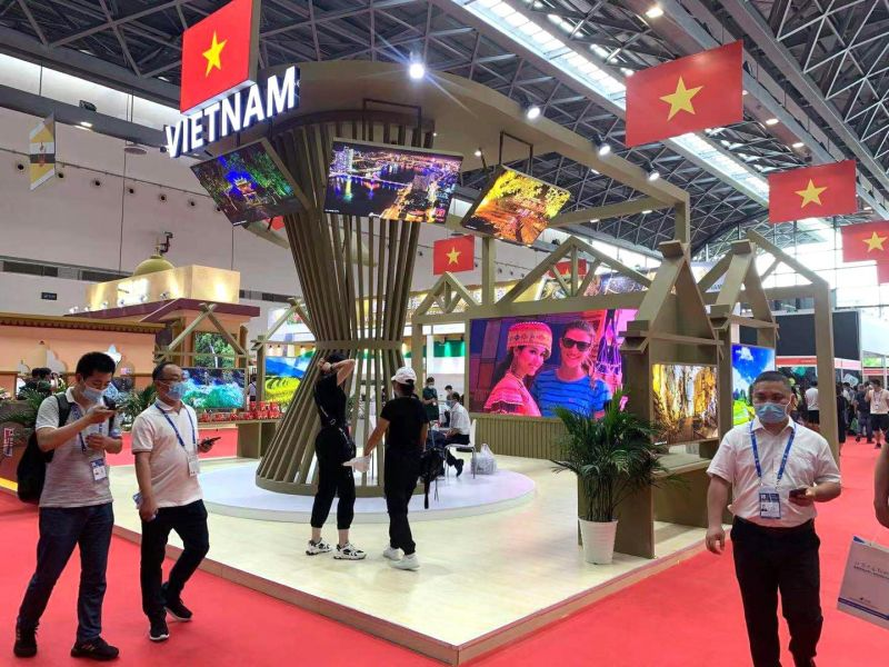 Gian hàng chung Việt Nam tại CAEXPO 2021