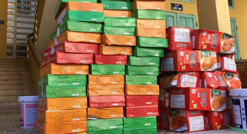 11.130 chiếc bánh trung thu có nhãn mác sản xuất tại nước ngoài