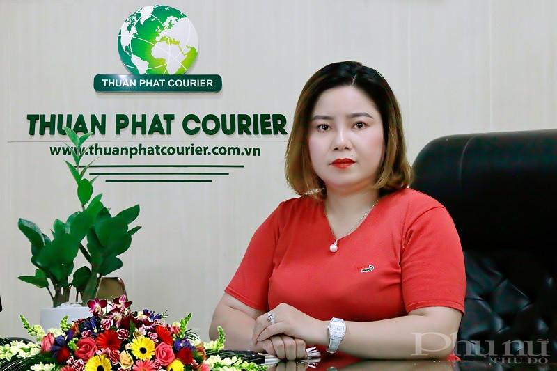 Chị Nguyễn Thị Ánh - Giám đốc Công ty TNHH Thương mại và Vận tải  THuận Phát - Người con của quê hương Đại Yên.