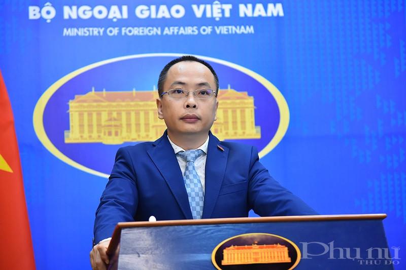 Phó Phát ngôn Bộ Ngoại giao Việt Nam Đoàn Khắc Việt.