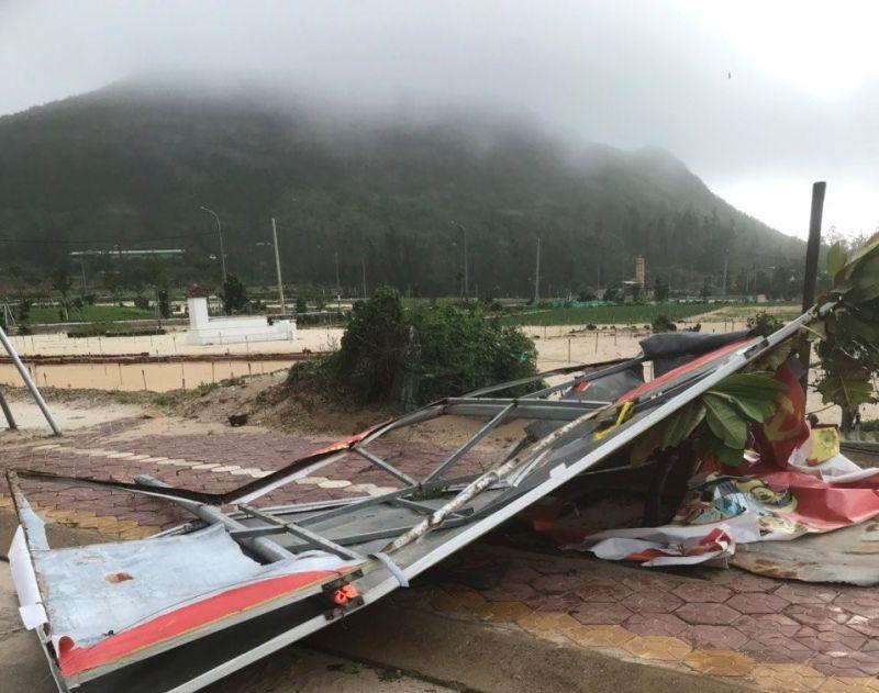 Bão số 5 ảnh hưởng đến đảo Lý Sơn