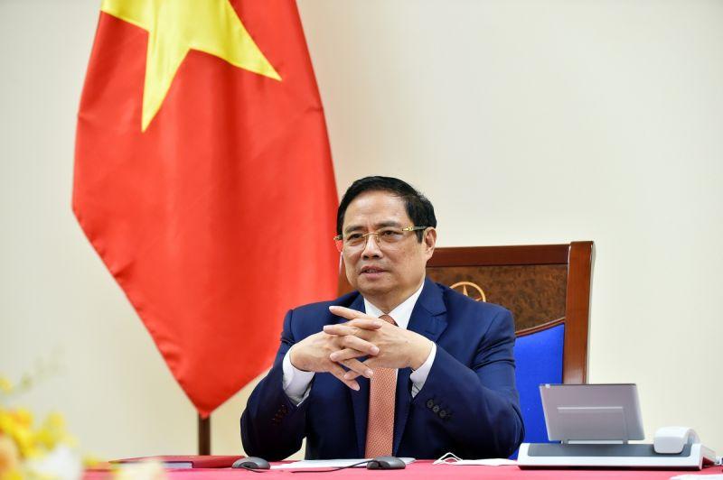 ại các cuộc điện đàm với lãnh đạo nhiều nước, Thủ tướng Phạm Minh Chính đều đề nghị tạo điều kiện thuận lợi để Việt Nam sớm tiếp cận nguồn vaccine, hợp tác chuyển giao công nghệ sản xuất vaccine