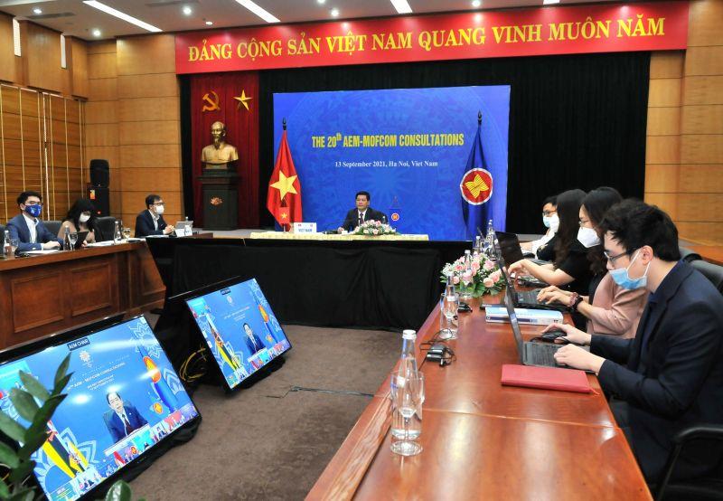Các Bộ trưởng hoan nghênh việc ký kết Hiệp định Đối tác Kinh tế Toàn diện Khu vực (RCEP) trong năm Chủ tịch ASEAN của Việt Nam 2020