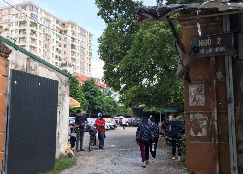 Việc biến tướng đất dự án thành bãi trông xe tại địa chỉ số 2-4 Đội Nhân không chỉ gây mất mỹ quan đô thị mà còn ảnh hưởng đến môi trường và giao thông