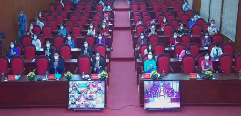 Đại hội được tổ chức bằng hình thức trực tuyến