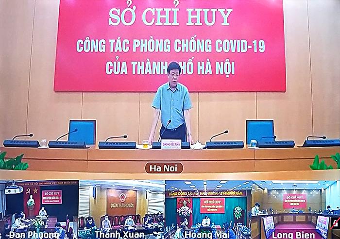 Phó Chủ tịch UBND Thành phố Dương Đức Tuấn kết luận tại Hội nghị