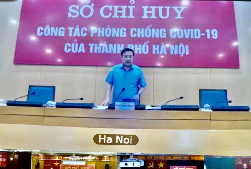 Đồng chí Chử Xuân Dũng - Phó Chủ tịch UBND TP phát biểu chỉ đạo hội nghị