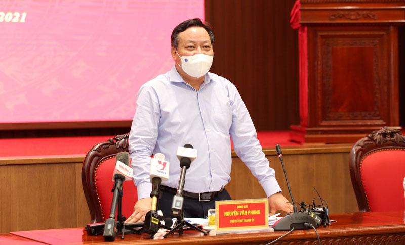 Phó Bí thư Thành ủy Nguyễn Văn Phong
