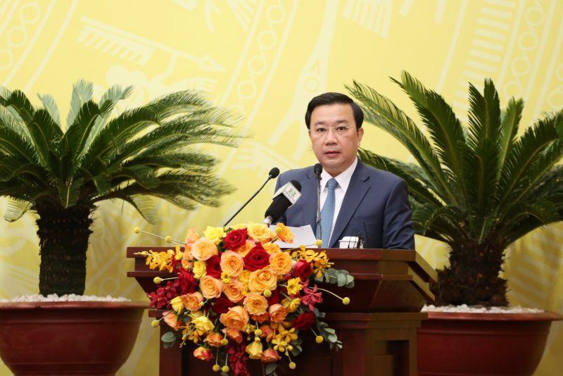 Phó Chủ tịch UBND TP Chử Xuân Dũng phát biểu