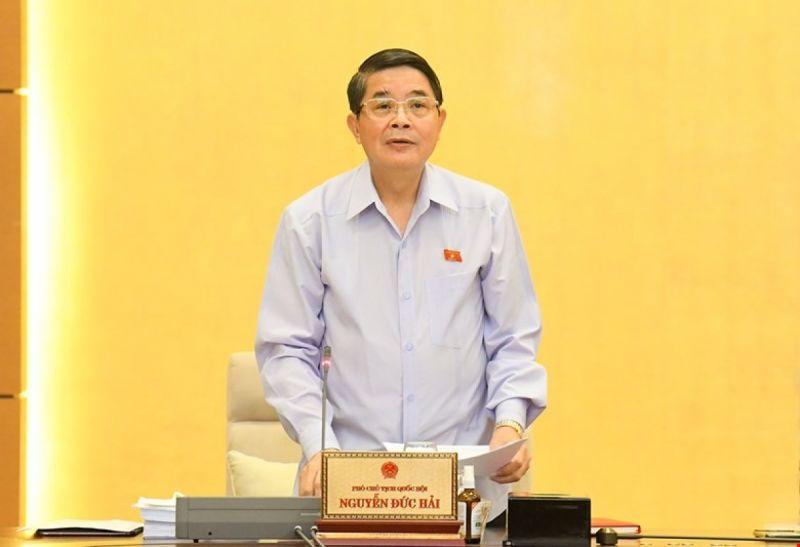Phó Chủ tịch Quốc hội Nguyễn Đức Hải