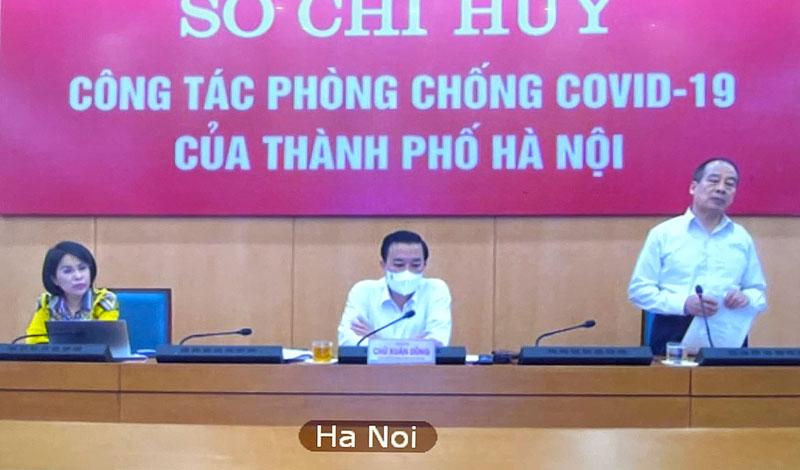PGS-TS.Trần Đắc Phu, nguyên Cục trưởng Cục Y tế dự phòng (Bộ Y tế) phát biểu tại cuộc họp