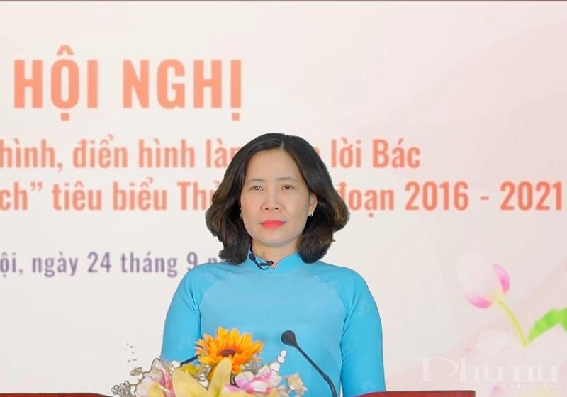 Đồng chí Lê Kim Anh - Chủ tịch Hội LHPN Hà Nội