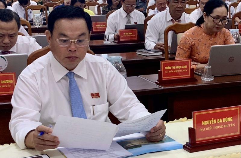 Chủ tịch UBND huyện Long Điền Nguyễn Bá Hùng