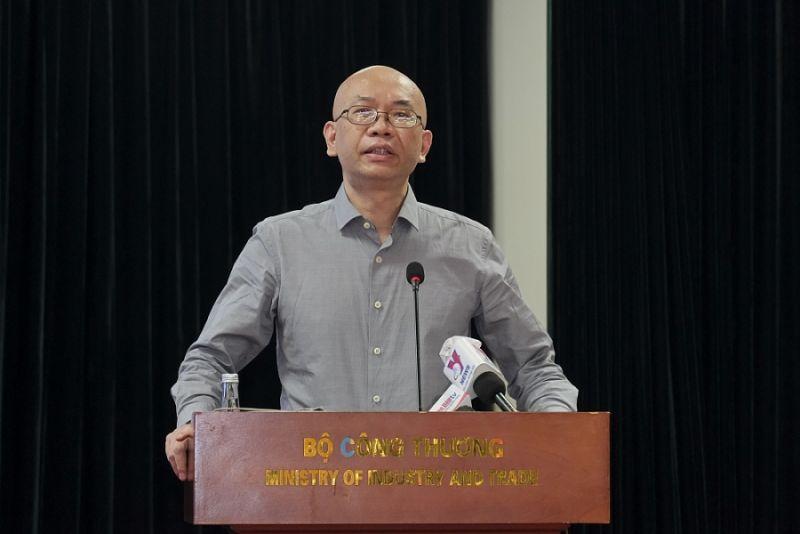 Ông Trần Thanh Hải, Phó Cục trưởng Cục Xuất nhập khẩu, Bộ Công Thương phát biểu