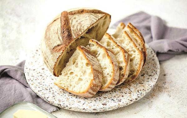 Chiếc bánh mỳ sử dụng men tự nhiên