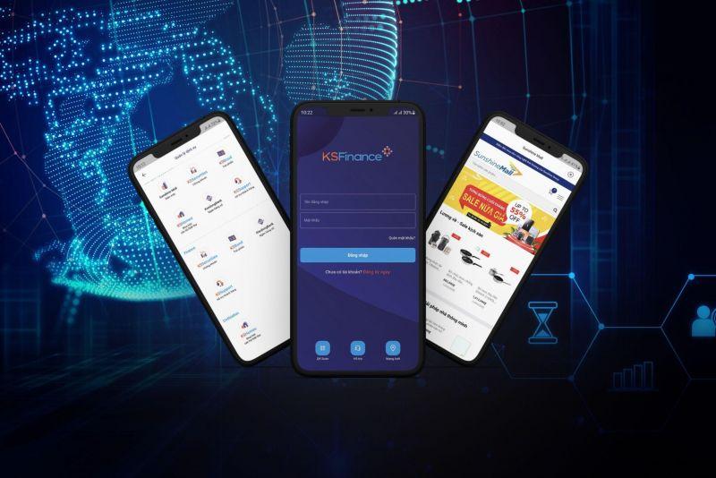 KSFinance App trên điện thoại rất tiện lợi