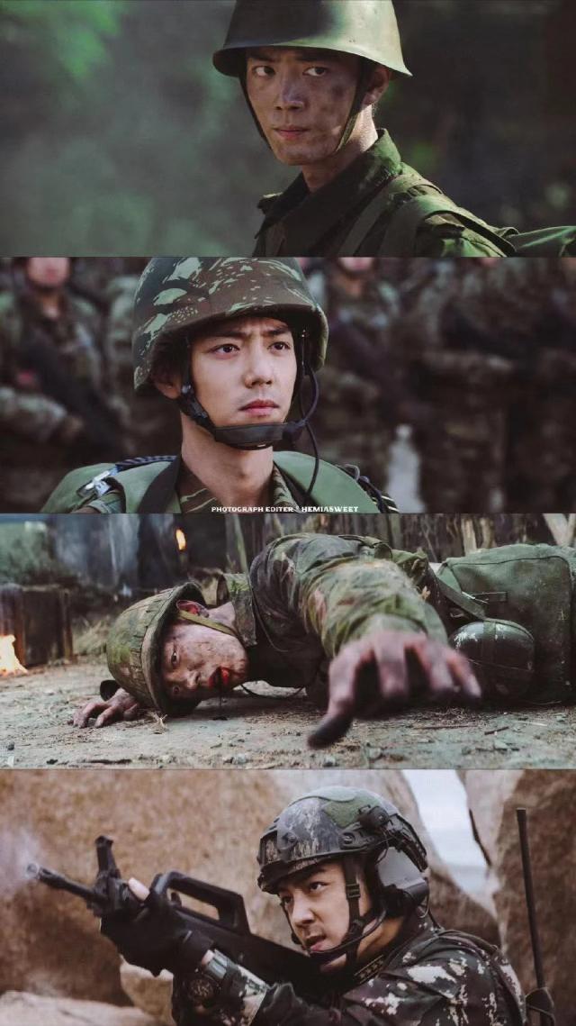 Vai diễn của Tiêu Chiến trong Quân đội Vương Bài.